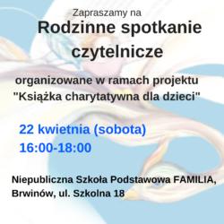 KCH-spotkanie FAMILIA-plakat ogólny